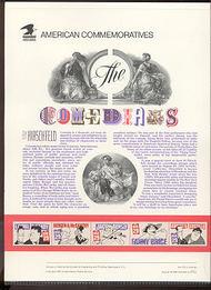 2562-6 29c Comedians USPS Cat. 372 Commemorative Panel cp372