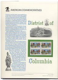 2561 29c District of Columbia USPS Cat. 373 Commemorative Panel cp373