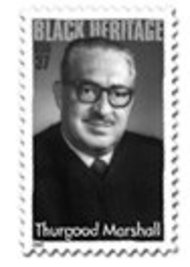 3746 37c Thurgood Marshall Plate Block 3746pb