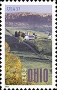 3773 37c Ohio Statehood Full Sheet 3773sh