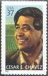 3781 37c Cesar Chavez Used Single 3781used