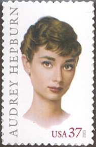 3786 37c Audrey Hepburn Full Sheet 3786sh