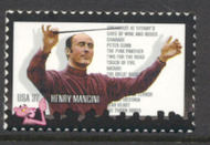 3839 37c Henry Mancini Full Sheet 3839sh