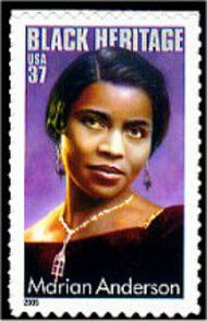 3896 37c Marian Anderson Used Single 3896used