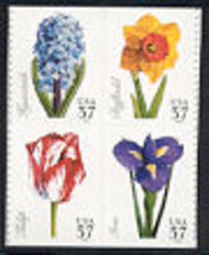 3900-3 37 Spring Flowers F-VF Mint NH 3900-3nh