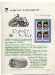2698 29c Dorothy Parke USPS Cat. 391 Commemorative Panel cp391