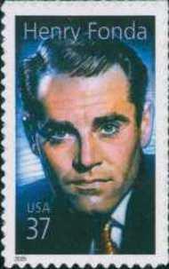3911 37c Henry Fonda F-VF Mint NH 3911nh
