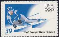 3995 39c Winter Olympics Full Sheet 3995sh