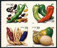 4013-17 39c Crops of The Americas Vending Booklet of 20 4017vb