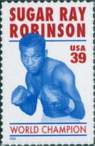 4020 39c Sugar Ray Robinson Full Sheet 4020sh