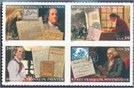 4021-4 39c Benjamin Franklin Full Sheet 4021-4sh