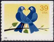 4029 39c 2 Bluebirds F-VF Mint NH 4029nh