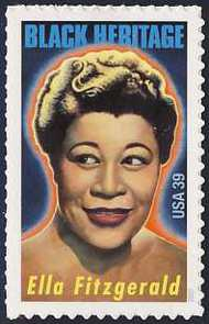 4120 39c Ella Fitzgerald Used Single 4120used