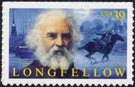 4124 39c Henry Wadsworth Longfellow Full Sheet 4124sh