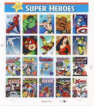 4159a-t 41c Marvel Comics Set of 20 Used Singles 4159a-tusg