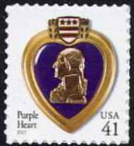 4164 41c Purple Heart F-VF Mint NH 4164nh
