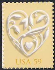 4272 59c Our Wedding Plate Block 4272pb