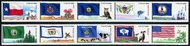 4323-32 45c Flags of Our Nation Set 6 Set of 10 Used Singles 4323-32usg