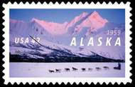 4374 42c Alaska Statehood F-VF Mint NH Plate Block of 4 4374pb