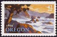 4376 42c Oregon Statehood F-VF Mint NH 4376nh