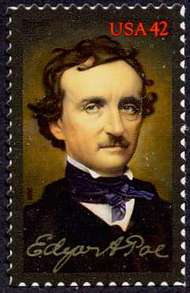 4377 42c Edgar Allen Poe F-VF Mint NH 4377nh