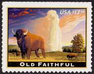 4379 $17.50 Old Faithful F-VF Mint NH 4379nh