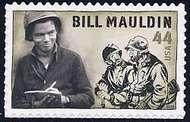4445 44c Bill Mauldin Cartoonist Full Sheet 4445s