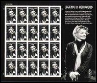 4461 44c Katherine Hepburn Full sheet of 20 4461s