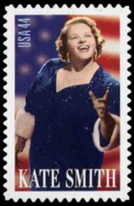 4463 44c Kate Smith F-VF NH Plate Block of 4 4463pb