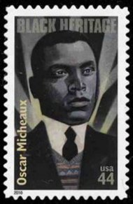 4464 44c Oscar Micheaux Used Single 4464used