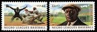 4465-6 44c Negro Leagues Baseball F-VF Mint NH Pair 4465nhpr