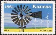 4493 Kansas Statehood Forever Stamp 4493nh