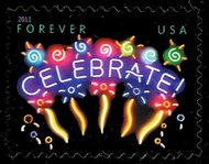 4502 (44c) Neon Celebrate Forever Mint NH 4502nh