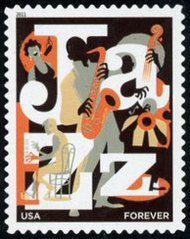 4503 (44c) Jazz Appreciation Forever Stamp Mint NH 4503nh