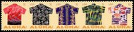 4592-6 32c Aloha Shirts Plate Block of 10 4592-6pb