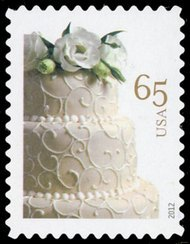 4602 65c Wedding Cake F-VF NH 4602nh