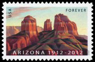 4627  (45c) Arizona Centennial F-VF Mint NH 4627nh
