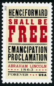 4721 Forever Emancipation Proclamation Mint NH 4721nh