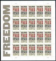 4721 Forever Emancipation Proclamation Mint NH Sheet of 20 4721s