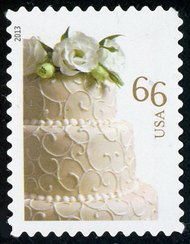 4735 66c Wedding Cake Used 4735used
