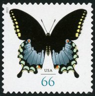 4736 66c Swallowtail Butterfly Mint NH 4736nh