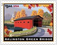 4738 $5.60 Arlington Green Bridge Mint NH 4738nh