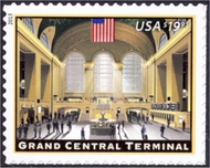 4739 $19.95 Grand Central Terminal Mint NH 4739nh