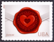 4741 (46c) Sealed with Love F-VF Miint NH 4741nh