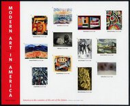 4748a-l (46c) Modern Art Set of 12 Singles 4748sglsused