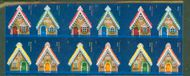 4820ai (46c) Gingerbread Houses Imperf Booklet of 20 3820ai