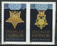 4822-23a Forever Medal of Honor Korea (2014) Set of 2 Used Single 4822a-3aused