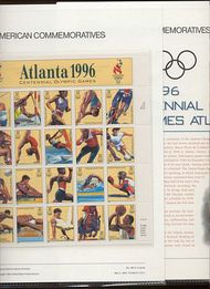 3068 32c Olympics Sheet USPS Cat. 484 Commemorative Panel cp484