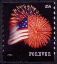 4854 Forever Star-Spangle Banner AP Coil Mint NH PNC of 3 4854pnc3