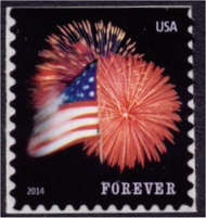 4855 Forever Star-Spangle Banner Booklet Pane of 20 4855a